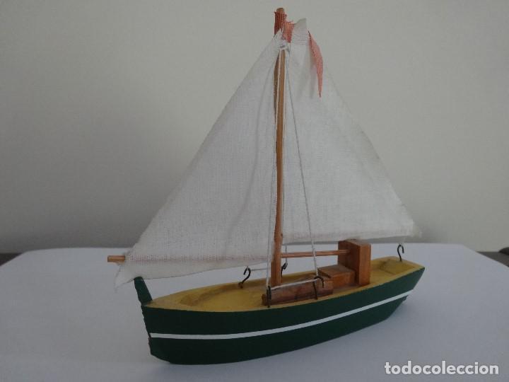 Coleccionismo: Miniatura barco de vela holandés - Foto 9 - 202072055