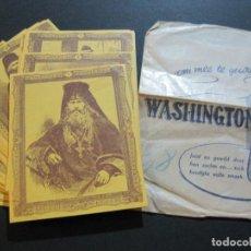 Coleccionismo: COLECCION COMPLETA DE 60 CROMOS DEL TABACO WASHINGTON-VER FOTOS-(V-19.736). Lote 202326356