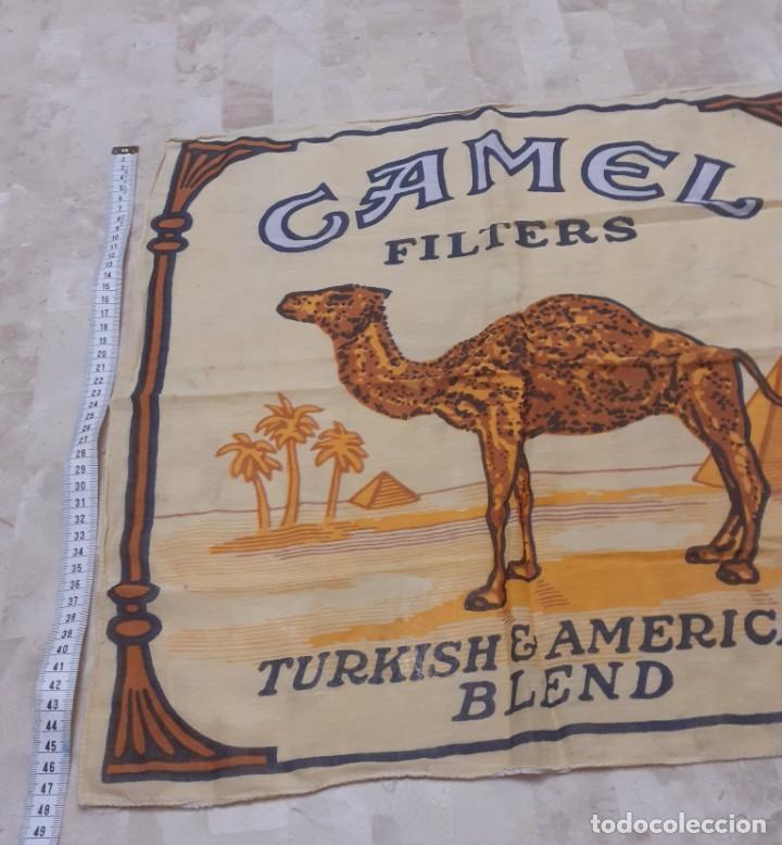 Coleccionismo: pañuelo de cuello de cigarrillos Camel - Foto 2 - 202764402