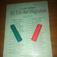 Coleccionismo: JUMILLA ( MURCIA ) - EL TÍO DEL HIGUICO - AÑO 1927 - LOS ORÍGENES DE UNA TRADICIÓN CENTENARIA. Lote 202826162
