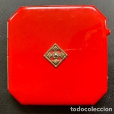 Coleccionismo: POLVERA LACADA DE ÉPOCA ART-DECÓ.. Lote 202880326
