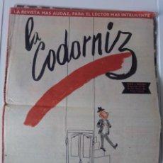 Coleccionismo: LA CODORNIZ 1954. Lote 202973963