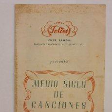 Coleccionismo: FOLIES / CHEZ DEMON - CLUB NOCTURNO - ESPECTÁCULOS - BARCELONA - 13,5 X 21 CM.. Lote 203009867