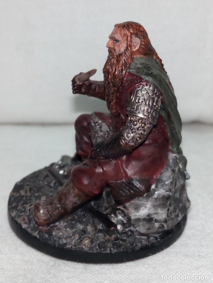 Coleccionismo: Figura de plomo El Señor de los Anillos inédita en España Nº153 Gimli Sin Caja - Foto 4 - 162798654