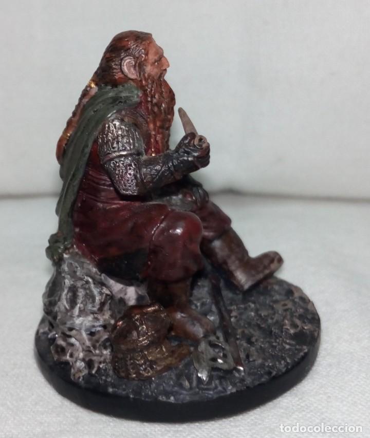 Coleccionismo: Figura de plomo El Señor de los Anillos inédita en España Nº153 Gimli Sin Caja - Foto 6 - 162798654