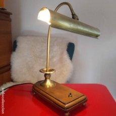 Coleccionismo: LAMPARA BIBLIOTECA/BANCO. Lote 203971583