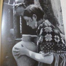Coleccionismo: CORDOBA NIÑA CON CANTARO ANTIGUA LAMINA HUECOGRABADO AÑOS 20. Lote 204117936