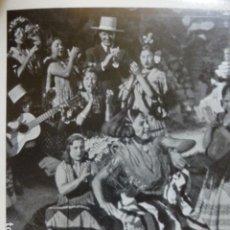 Coleccionismo: GRANADA ALBAICIN GITANAS ANTIGUA LAMINA HUECOGRABADO AÑOS 20. Lote 204122235
