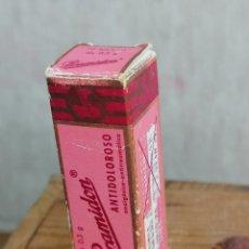 Coleccionismo: CAJA BOTE FARMACO MEDICAMENTO 9. Lote 204436437