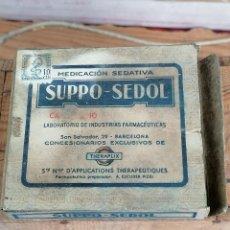 Coleccionismo: CAJA BOTE FARMACO MEDICAMENTO 11. Lote 204436570