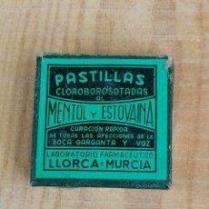 Coleccionismo: CAJA BOTE FARMACO MEDICAMENTO 52. Lote 204448845