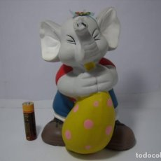 Coleccionismo: HUCHA ELEFANTE CERÁMICA, AÑO 1994, NUEVO SIN USAR.. Lote 204660878