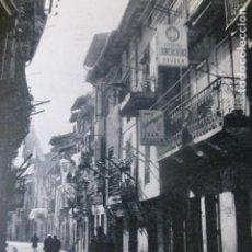 Coleccionismo: ORDUÑA VIZCAYA UNA CALLE ANTIGUA LAMINA HUECOGRABADO. Lote 205173523