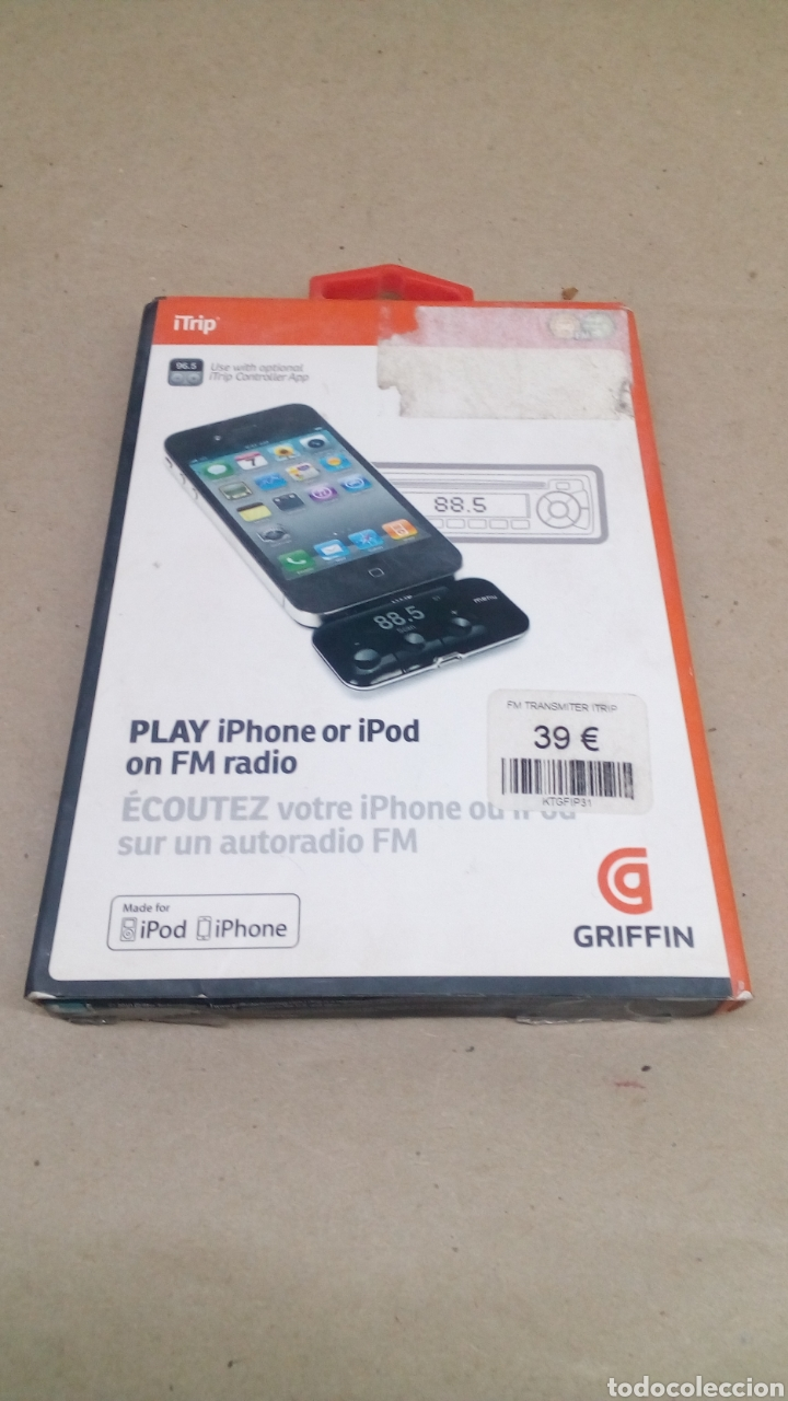 PLAY IPHONE OR IPOD ON FM RADIO (Coleccionismo - Varios)