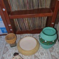 Coleccionismo: 4 PIEZAS DE CERÁMICA O BARRO, LO FOTOGRAFIADO.. Lote 205294957