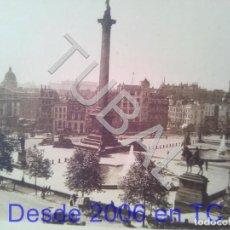 Collectionnisme: TUBAL LONDRES TRAFALGAR SQUARE PLANCHA HUECOGRABADO U11. Lote 205435782