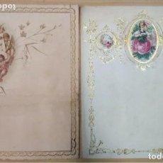 Coleccionismo: CARTAS CON GRABADOS DEL S. XIX. Lote 205439012