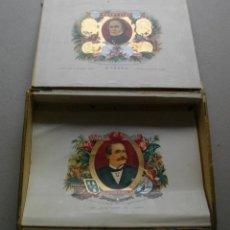 Coleccionismo: CAJA DE PUROS HABANOS LA FLOR DE HENRY CLAY (( 25 ELITES-- PRE/ EMBARGO )) VACIA/COLC. Lote 205468491
