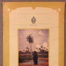 Coleccionismo: HOTEL NACIONAL DE CUBA (LA HABANA). CARTA DE PRECIOS DEL BAR GALERÍA (AÑO 1998). DÍPTICO.. Lote 205553793