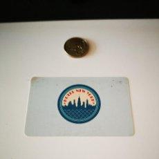 Colecionismo: TARJETA HOTEL EURODISNEY HOTEL NEW YORK AÑO 1992-92 EURO DISNEY DISNEYLAND MICKEY. Lote 205566228