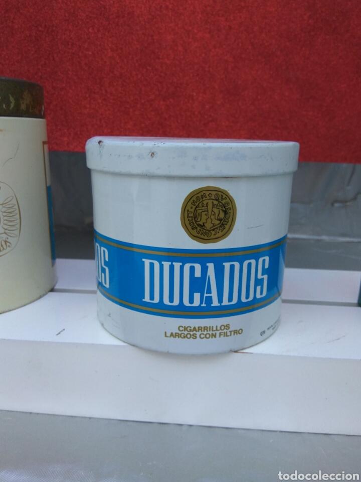 Coleccionismo: TABACO DUCADOS LATAS Y MECHERO - Foto 3 - 205587737