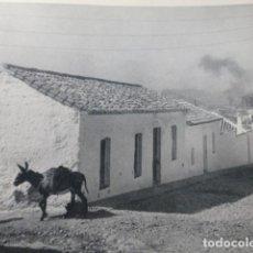 Coleccionismo: PUERTOLLANO CIUDAD REAL ASPECTO URBANO ANTIGUA LAMINA HUECOGRABADO AÑOS 50. Lote 205599815