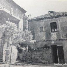 Coleccionismo: CIFUENTES GUADALAJARA DETALLE URBANO ANTIGUA LAMINA HUECOGRABADO AÑOS 50. Lote 205645578