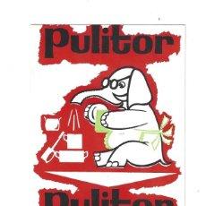 Coleccionismo: FLYER PUBLICITARIO- PULITOR. NO SE DESHACE, NO HUELE... ESPONJAS. JABÓN. BARCELONA- AÑOS 60. Lote 205738646