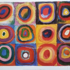 Coleccionismo: WASSILY KANDINSKY. FARBSTUDIE, QUADRATE. MAMAGRAF. Lote 205740433
