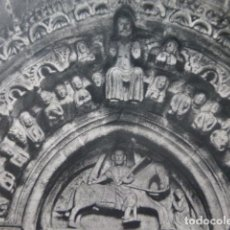 Coleccionismo: BETANZOS LA CORUÑA IGLESIA DE SANTIAGO ANTIGUA LAMINA HUECOGRABADO AÑOS 50. Lote 205745437