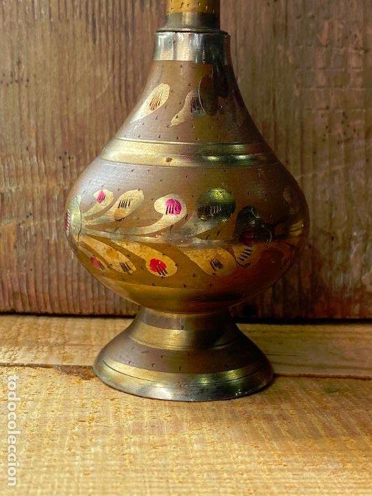 Coleccionismo: Antiguo incensario hindu o similar - ver fotos - Foto 2 - 205777836