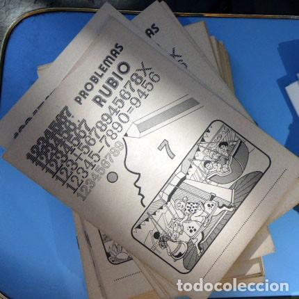 Coleccionismo: 40 Cuadernos Problemas Rubio de EGB, año 1978 - Foto 2 - 205777898