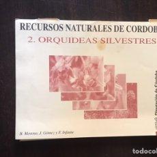Coleccionismo: ORQUÍDEAS SILVESTRES. RECURSOS NATURALES DE CÓRDOBA . 23 LÁMINAS. BUEN ESTADO. DIFÍCIL Y BUSCADO. Lote 206190737
