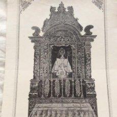 Coleccionismo: S. BENTO DAS PERAS. QUE SE VENERA NA EGREJA PAROCHIAL DE S. CHISTOVÃO DE RIO TINTO. Lote 206299580