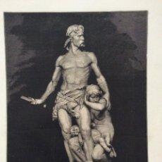 Coleccionismo: SALON DE 1884 - LA DEFENSA DEL HOGAR - GRUPO EN GÉSSO DE BOISSEAU. Lote 206299920