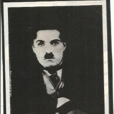Coleccionismo: POSTAL A1142: IMAGEN DE CHARLES CHAPLIN. Lote 206369452