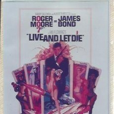 Coleccionismo: POSTAL A0772: JAMES BOND. LIVE AND LET DIE. Lote 206371817