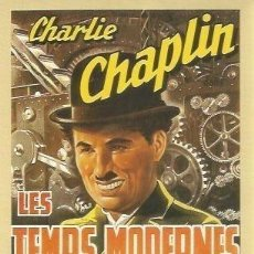Coleccionismo: POSTAL A0875: CHARLES CHAPLIN EN LES TEMPS MODERNS. Lote 206373400