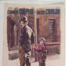 Coleccionismo: POSTAL A0832: EL CHICO DE CHARLES CHAPLIN. Lote 206375167