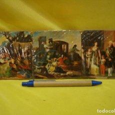 Coleccionismo: 6 POSAVASOS CORCHO CUADROS GOYA, FABRICADO EN TOLEDO, NUEVOS SIN ABRIR EMBALAJE ORIGINAL.. Lote 206478197
