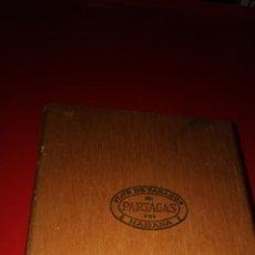 Coleccionismo: CAJA PUROS PARTAGAS 8.9.8 FLOR DE TABACOS DE PARTAGAS Y Cª. HABANA. VACÍA. Lote 206578081