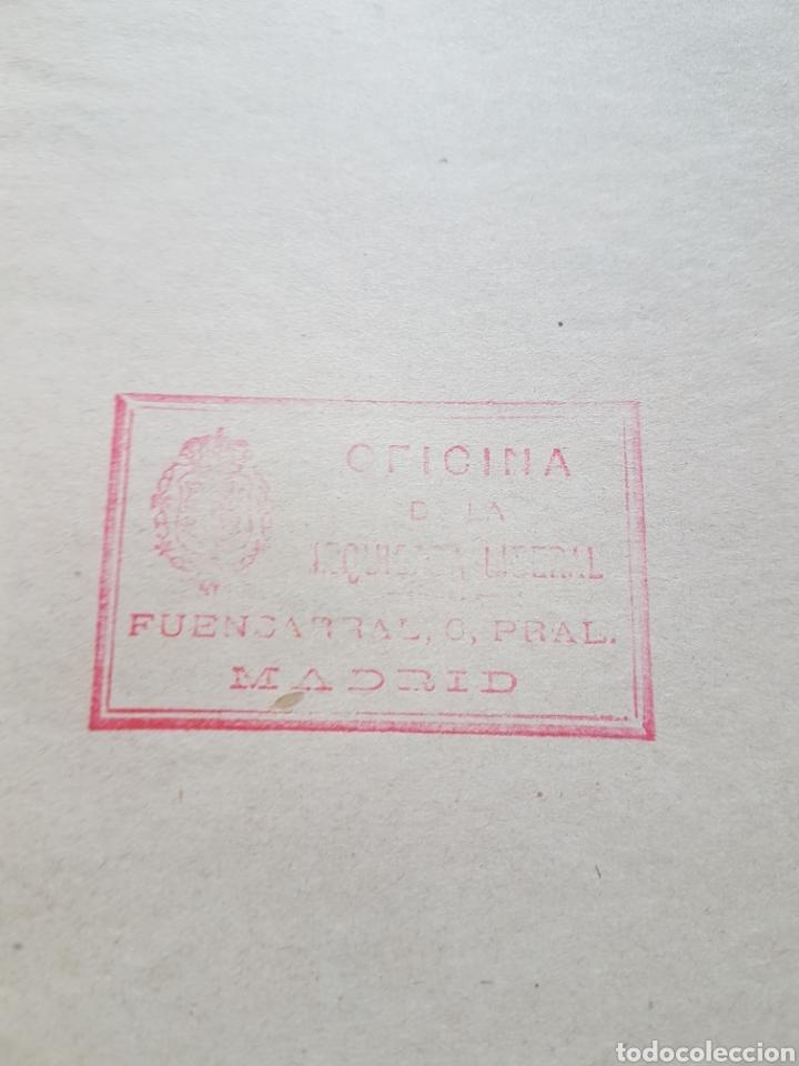 Coleccionismo: Proyecto ley Aumento valor propiedad inmueble Madrid 1918 obsequi de Izquierda Liberal - Foto 3 - 206789232