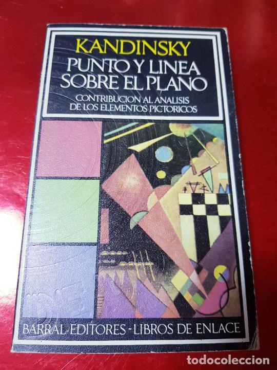 Coleccionismo: libro-kandinsky-punto y línea sobre el plano-barral editores-1971-libros de enlace - Foto 2 - 206837676