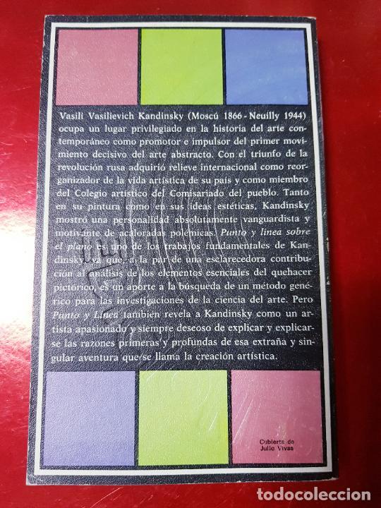 Coleccionismo: libro-kandinsky-punto y línea sobre el plano-barral editores-1971-libros de enlace - Foto 4 - 206837676