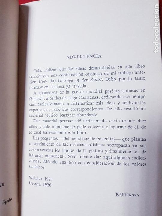 Coleccionismo: libro-kandinsky-punto y línea sobre el plano-barral editores-1971-libros de enlace - Foto 7 - 206837676