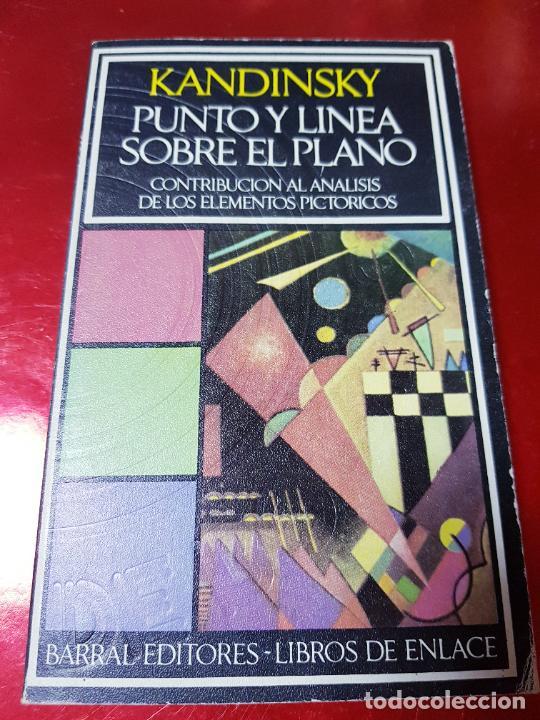 LIBRO-KANDINSKY-PUNTO Y LÍNEA SOBRE EL PLANO-BARRAL EDITORES-1971-LIBROS DE ENLACE (Coleccionismo - Varios)
