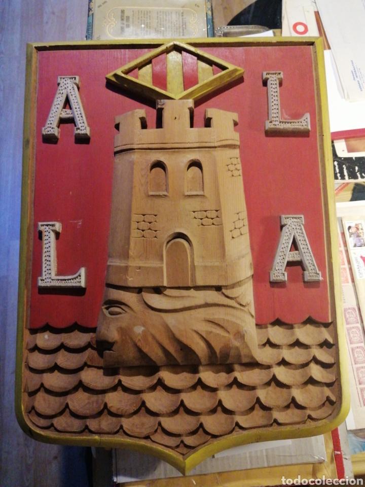 ALICANTE ESCUDO ARTESANAL DE ACABADO LUJO (Coleccionismo - Varios)