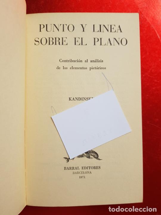 Coleccionismo: libro-kandinsky-punto y línea sobre el plano-barral editores-1971-libros de enlace - Foto 12 - 206837676