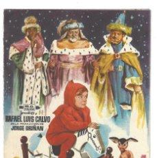 Coleccionismo: FELICITACIÓN NAVIDEÑA- MENSAJEROS DE PAZ. RAFAEL LUIS CALVO. MG FILMS. CINE. ILUSTRACIÓN JANO. Lote 207117901