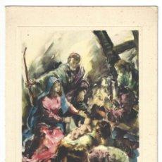 Coleccionismo: FELICITACIÓN NAVIDEÑA- BAR MEMSTARA. ILUSTRACIÓN DE P. CLAPERA. MPC Nº 208. BARCELONA- 1957. Lote 207121582